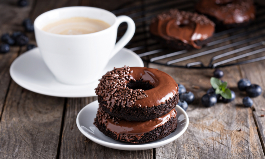 donuts al cioccolato