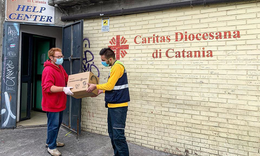caritas centri italia