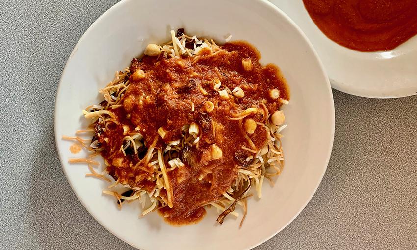 koshari ricetta