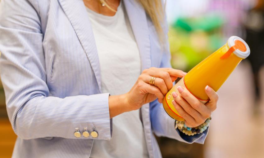 etichette cibo