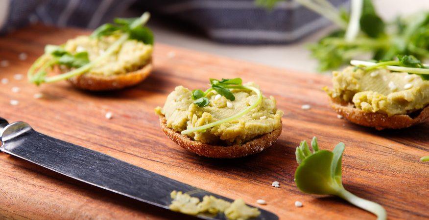 hummus di broccoli