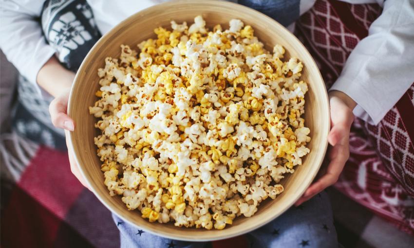 pop corn snack