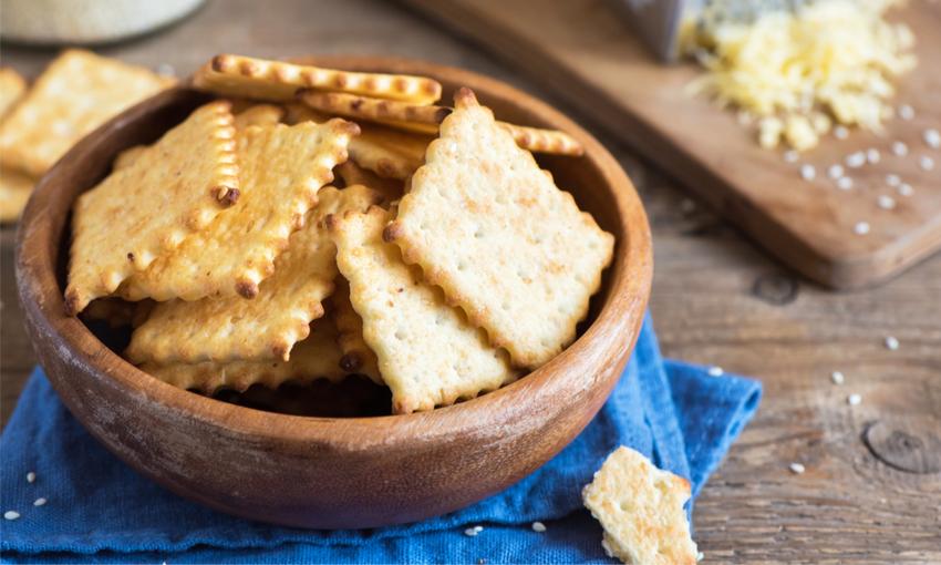 crackers lievito madre esubero