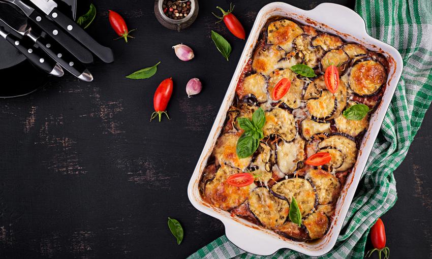 lasagne pane carasau melanzane