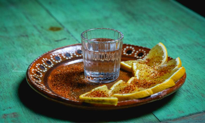 mezcal bicchiere