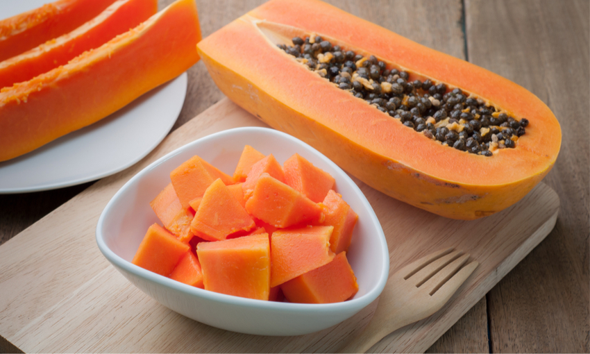 papaya consumo