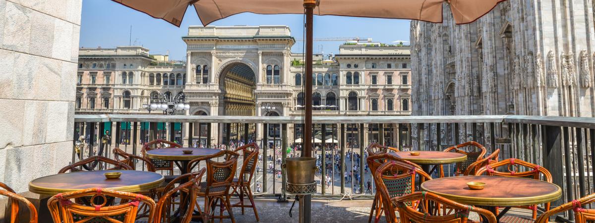aperitivo in terrazza a milano