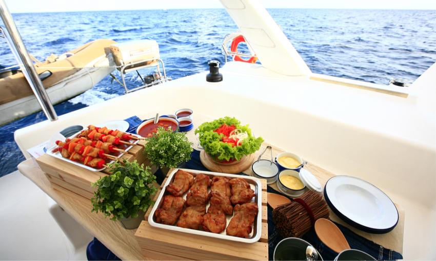 cibo barca a vela