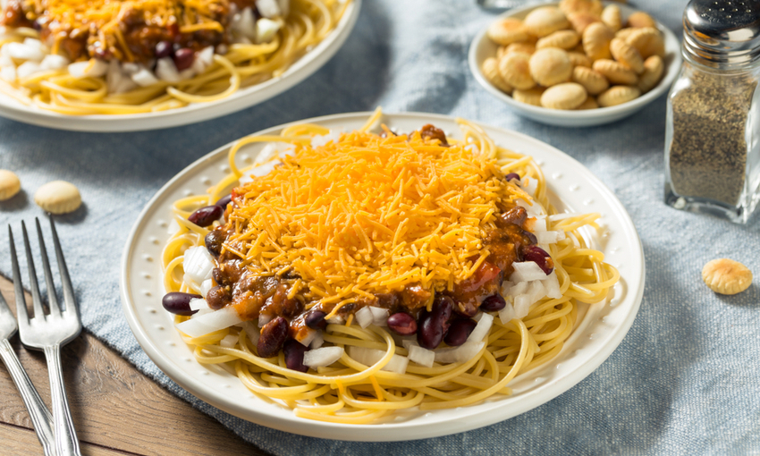 cincinnati chili spaghetti