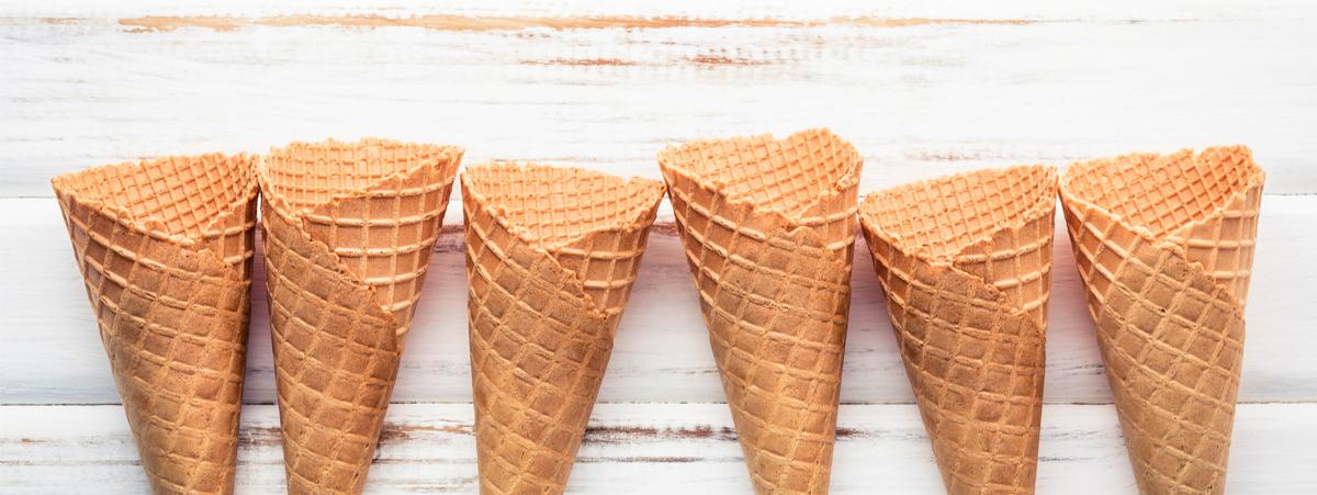 come fare il cono gelato a casa