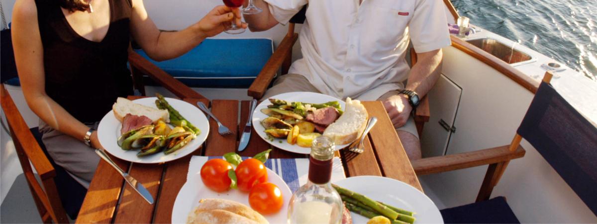cosa mangiare in barca a vela