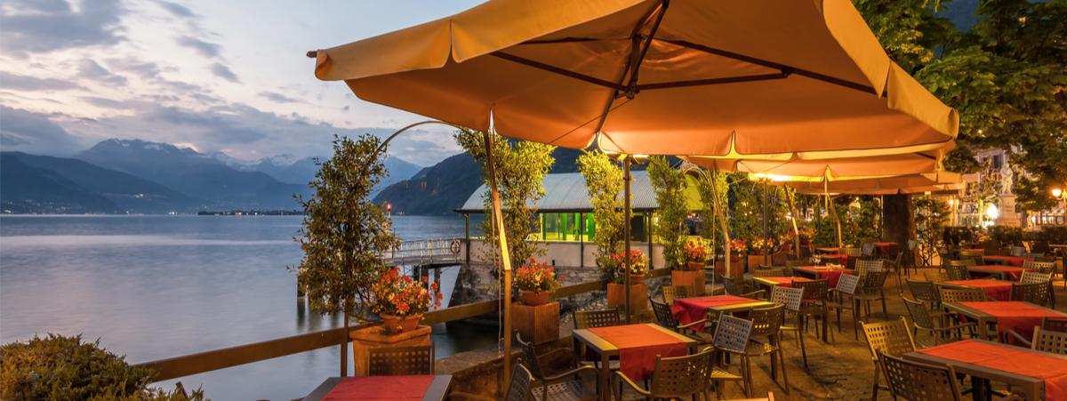 ristoranti lago di como con vista