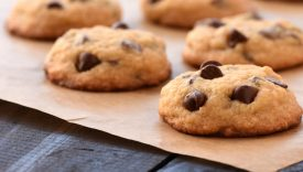 cookies gocce cioccolato senza glutine