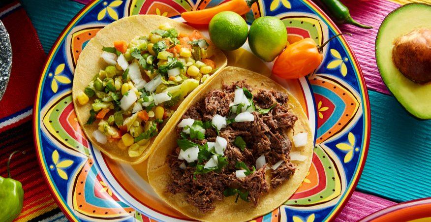 cena messicana a casa